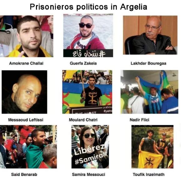 presos politicos argelia
