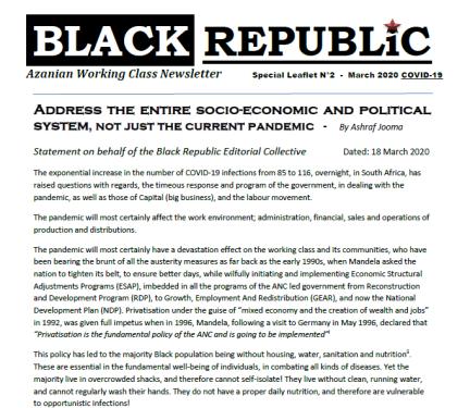 black republik