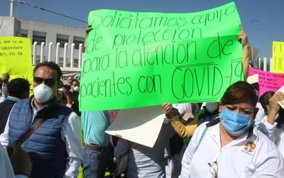 PROTESTA HOSPITAL DEL NORTE